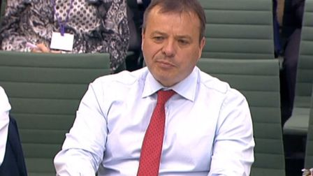Arron Banks, founder of Leave.EU, gives evidence to the Digital, Culture, Media and Sport Committee