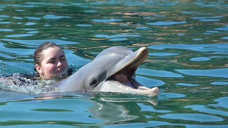Seriously ill teenager Emma King was granted a wish to visit Walt Disney World Florida and swim with