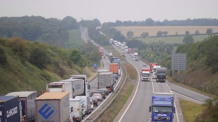 A file picture of the A14.