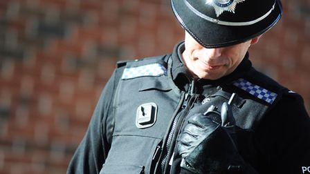 An officer was injured while making an arrest. Stock image.