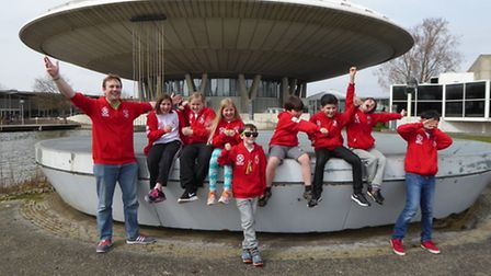Holbrook Primary School's DigiMinds robotics team travelled to the Netherlands for a competition ove