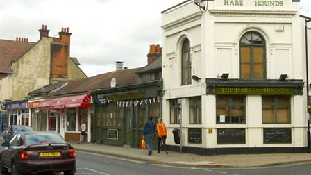 The Hare and Hounds at the junction with Orford Street closed in 2011
