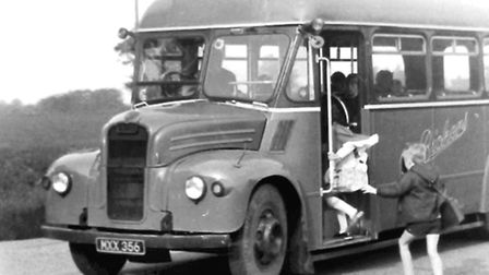 Peter Driver shared this photograph of the Bickers bus.