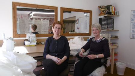Alexander Sewing Rooms has moved into new premises in Orwell Plac, Ipswich Jenny Emmerson and Lor
