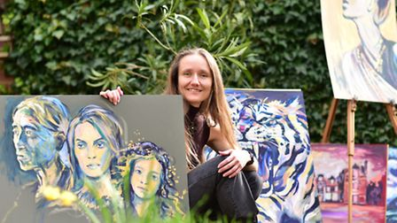 Ipswich artist Lois Cordelia has been selected to create a pig for Pigs Gone Wild.