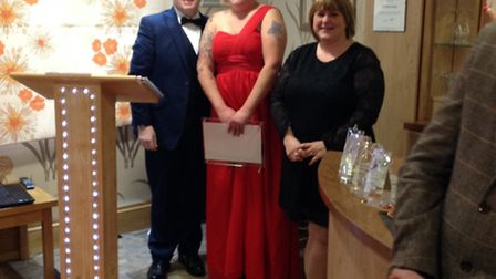 Bucklesham Grange Care Home awards - Lifestyle assistant Tanya Finch is crowned lifestyle leader of