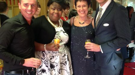 Bucklesham Grange Care Home awards - Attendees at the awards