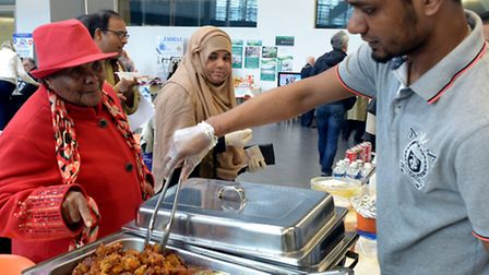 The Bangladeshi Support Centre Pita Festival held at the Suffolk New College main hall on Sunday