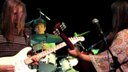 Falldown in September, playing Ipswich Music Day