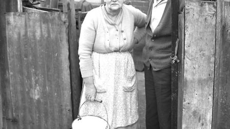 Mr Frederick and Mary Greenhalgh in 1965.