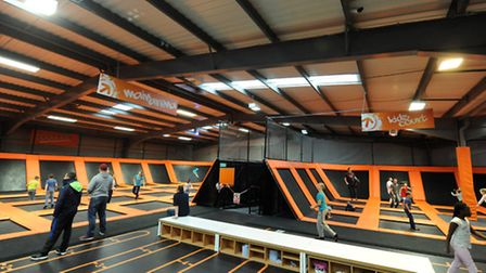 Plans have been revealed to open a Bounce trampolining centre in the B&Q