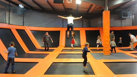 Plans have been revealed to open a Bounce trampolining and entertainment centre in Ipswich