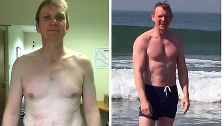 Bryce Kelly before and after