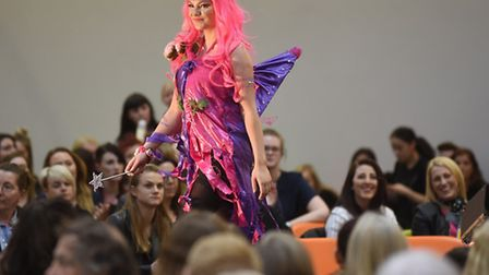 The creative talents of Suffolk New College�s future stylists and make-up artists were showcased dur