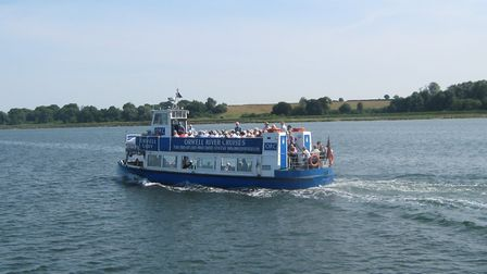 Orwell Lady, crusing on the River Orwell
