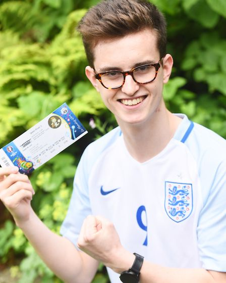 Ladbrokes pays for teenage football fan, Jonny Dowe's trip to Euro 2016 after his accommodation fel