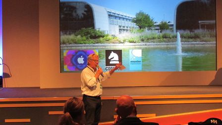 Coderus Apple global event - at Adastral Park