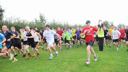 Stock image of the Kesgrave parkrun.