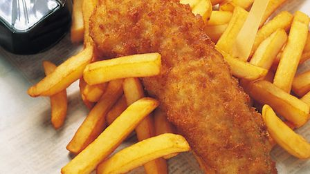 Three admit affray in fish and chip shop