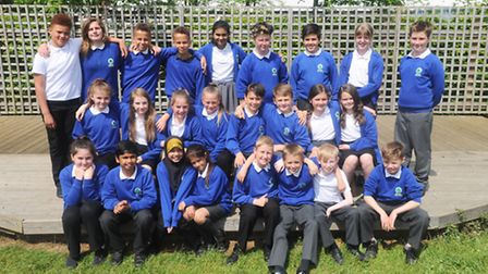 Pupils from Cliff Lane are among those who posed for our photographers