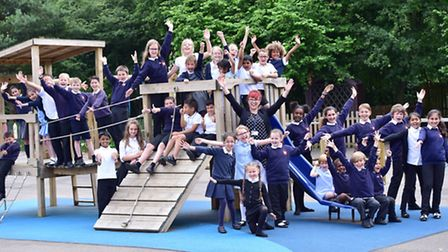 Handford Hall Primary School celebrate the news that they have received a 'Good' foster report. Hea