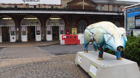 The Pigs Gone Wild trail covers key Ipswich landmarks