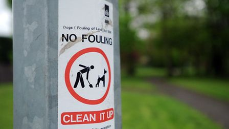 Reports of dog fouling have been on the increase in Kesgrave