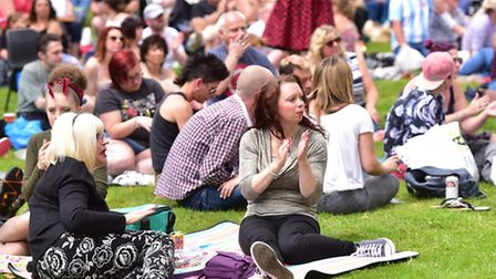 Thousands of people flocked to Christchurch Park for Ipswich Music Day 2016 on Sunday July 3rd.