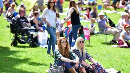 Thousands of people flocked to Christchurch Park for Ipswich Music Day 2016 on Sunday