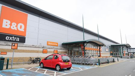 B&Q Anglia Retail Park, which is set to become a Bounce leisure facility