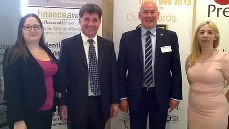A property investment seminar was held at Suffolk Food Hall, Wherstead on Wednesday. Speakers wer