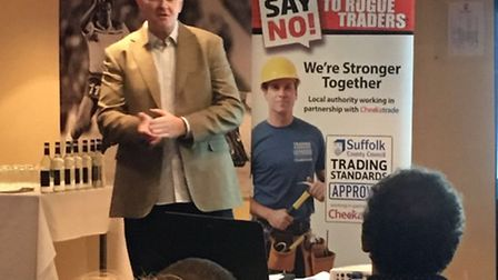Checkatrade teamed up with SCC Trading Standards to hold an open day for tradespeople at Ipswich Tow