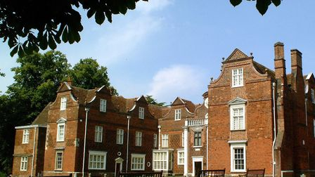Christchurch Mansion is one of the attractions in Ipswich