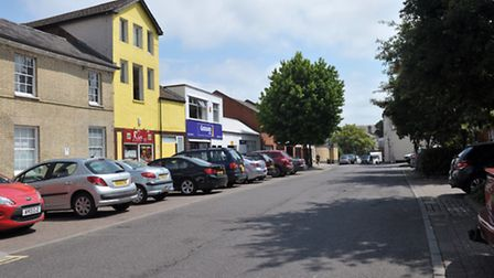 Old Foundry Road in Ipswich.