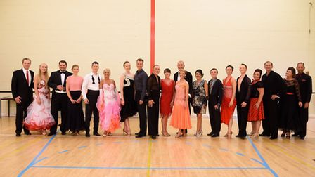 The Strictly Come Dancing event raised almost �5,000 for Inspire Suffolk