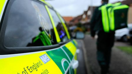 East of England Ambulance Service attended the crash.