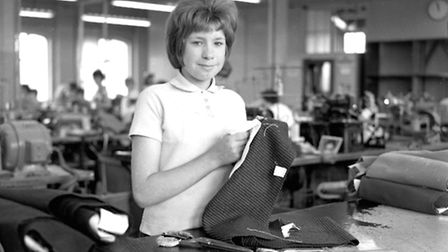 Can you name any of these girls busy at Phillips and PiperÕs works in September 1963?