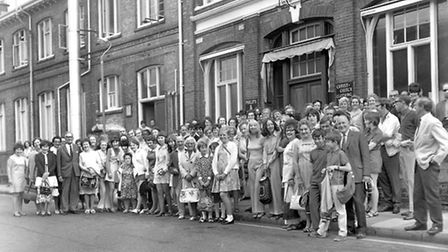 A staff outing from Phillips and PiperÕs Ipswich works in June 1970. (Photo by Ivan Smith/Archant)