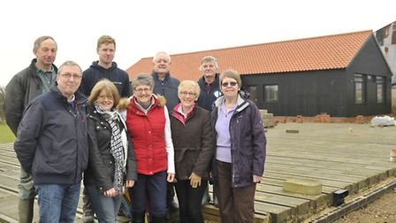 Talitha Koum Charity trustees pictured at the rehabilitation centre site