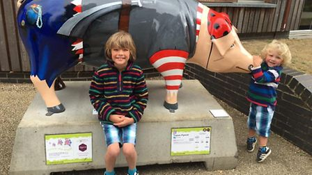 Readers have shared their Pigs Gone Wild selfies and family photos as the trail reaches its final fe