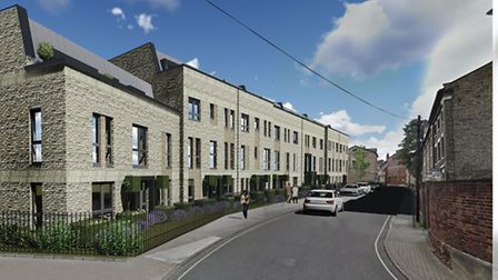 And indicative perspective of what a new retirement homes on the 30 Lower Brook Street site, might l