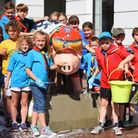 Suffolk Beaver Scouts are taking to the streets for a big pig wash! Youngsters are armed with sponge