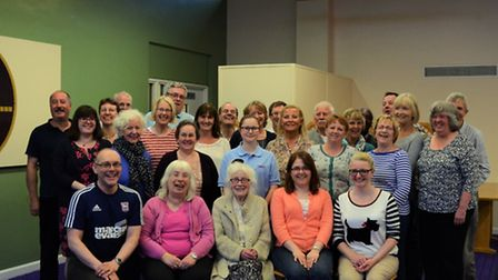 The Ipswich Hospital Community Choir, which has joined the Kissing It Better campaign