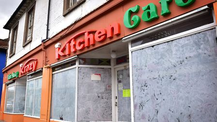 Krazy Kitchen Cafe, Ipswich, which is owned by Amer El-Sadat who denies making a threat to kill Irfa