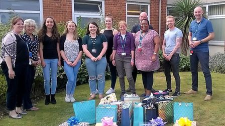 Ipswich teenagers deliver activity packages for people being treated for mental health illnesses at