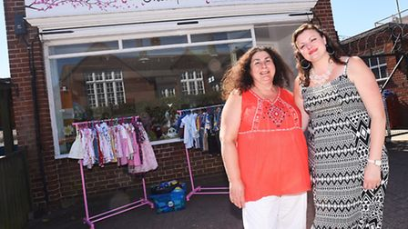 A charity shop supporting women who have suffered pregnancy issues, and is named after one of the vo
