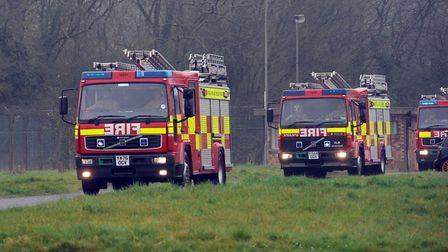 Firefighters were called to the scene. File picture: PHIL MORLEY