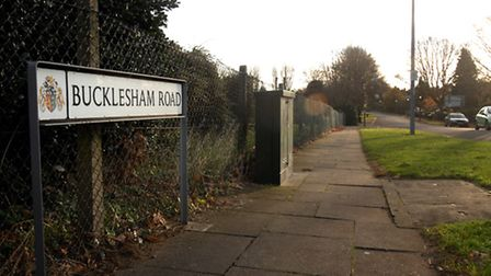 Bucklesham Road. File picture
