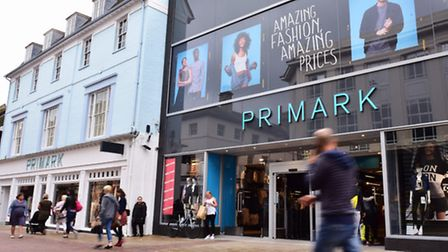 The newly-expanded Primark in Ipswich high street.