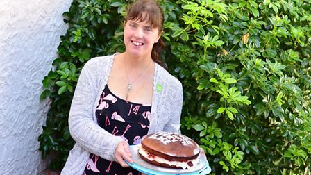 Kirsty Thompson spent the week baking for a Macmillan coffee morning